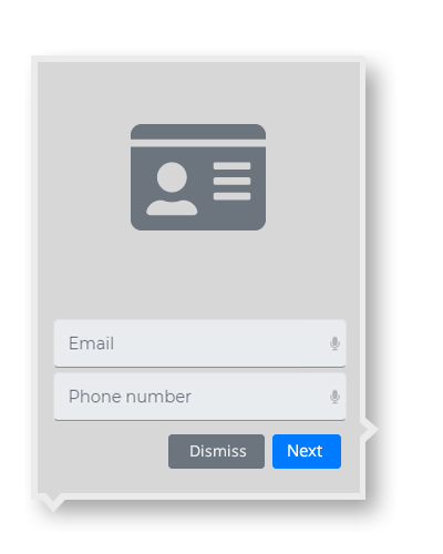 Strategy driven contact forms